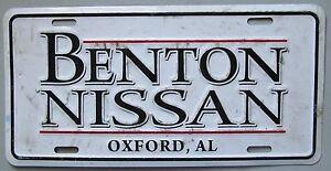 Benton Nissan Oxford >> 1990 S Oxford Alabama Benton Nissan Dealership Booster License