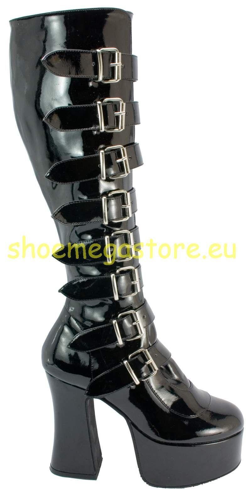Demonia Gothic High Heels Slush 249 Lack