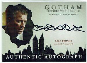 Gotham Season 2 Autograph Card SP Sean Pertwee as Alfred Pennyworth