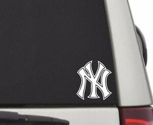 New-York-Yankees-Logo-Sticker-Window-Wall-Car-Truck-Vinyl-Decal-Sticker-5-034-H
