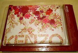 034-KENZO-034-RIGID-HARDCASE-PINK-FLORAL-DESIGN-WHITE-COMPATIBLE-WITH-NEW-IPAD-BNIB