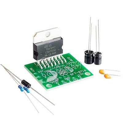 TDA7297 Amplifier Board 15W+15W DC12V Dual-channel Track Stereo Module Kit DIY