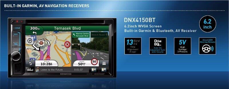 Kenwood Dnx4150btm Garmin Navigation Unit DVD Mp3 Usb (Tracks for Africa  Ready) | City Centre | Gumtree Classifieds South Africa | 202251136