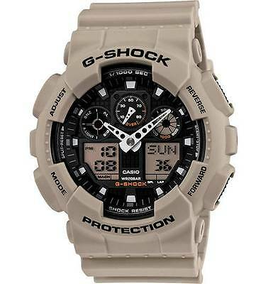 CASIO G-Shock Watch Military Sand Series Shock Resistant 200M Water GA100SD-8A