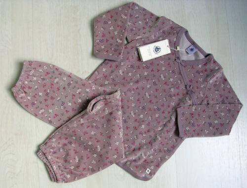 BRANDNEU!!,! von Petit Bateau Nicky natur oder hellviolett Schlafanzug
