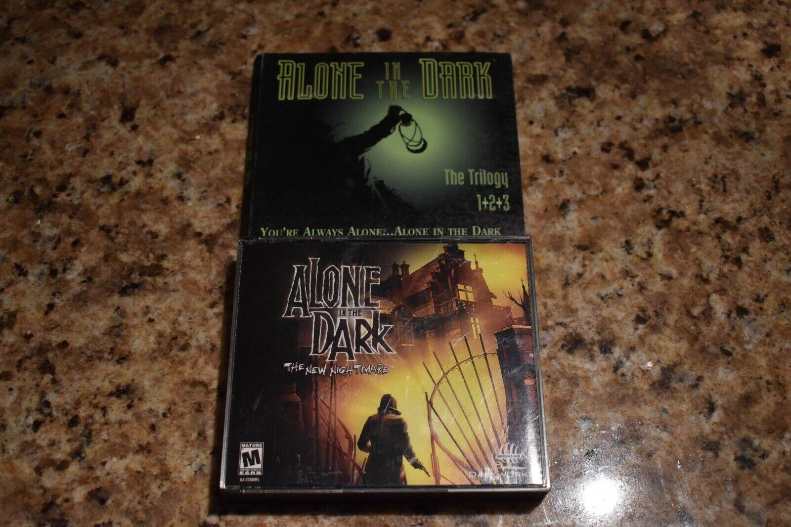 Alone In The Dark Trilogy Pc 1997 For Sale Online Ebay