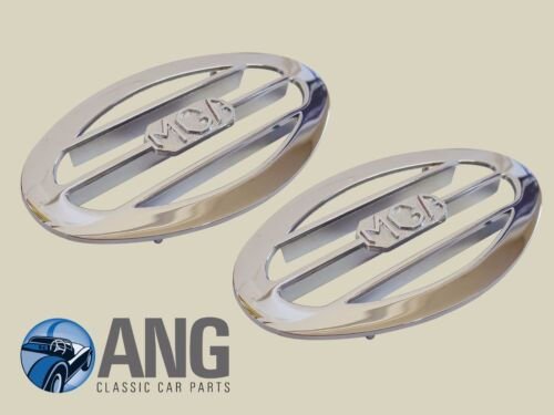 AHH5294 1600 MKII Chrome Ovale Air Vent Grille X 2 MG MGA 1500 1600