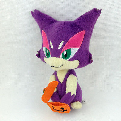 Pokemon Center Purrloin Choroneko Stuffed Doll Plush Toy Figure Gift 7 inches