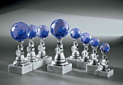 1 noblesseglas glaspokal globe terrestre 17 cm #133 Randonnée Coupe anniversaire bureau