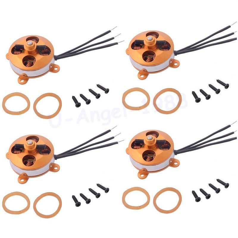 4x A2204 1400KV   1450KV  1600KV 2S 3S Outrunner Micro Brushless Motor