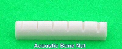 "1 pcs Acoustic Gibson guitar bone nut BN 2227 premium length 1-11//16/"" slot cut"