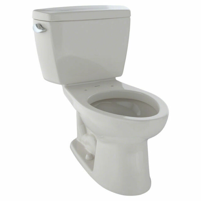 Cst744sl12: TOTO CST744SL#12 Drake Two-Piece Elongated Toilet With 1.6