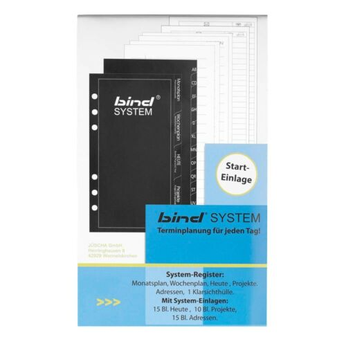 bind Ringbuch-Ergänzungsset Starteinlage