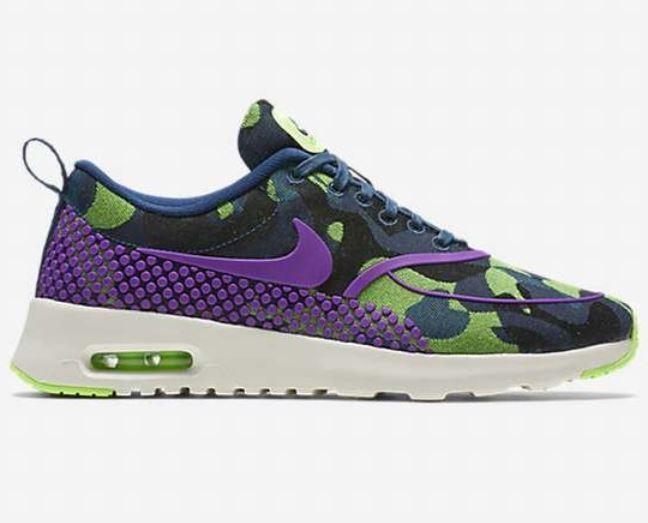 [NEU] Nike Air Max Thea JCRD Premium Gr 38 vivid purple ghost green 807385 300