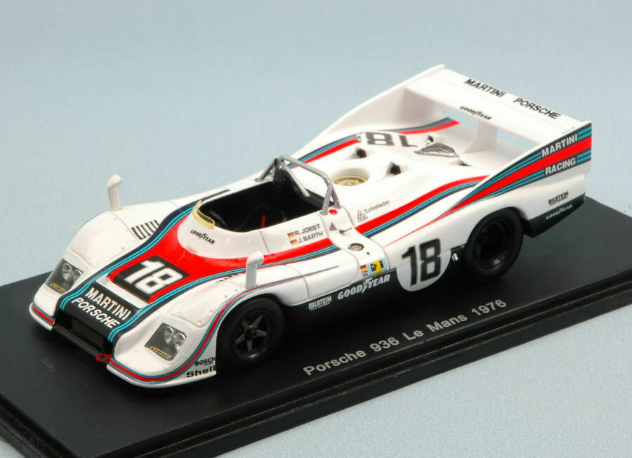 Porsche 936 Retired Lm 1976 R. R. R. Joest   J. Barth 1 43 Model S4169 SPARK MODEL 1e9462