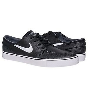 Sb Talla Cuero L Stefan 616490 Eu Negro Janoski 12 Blanco Nike 013 46 Skate Us dq4w1w
