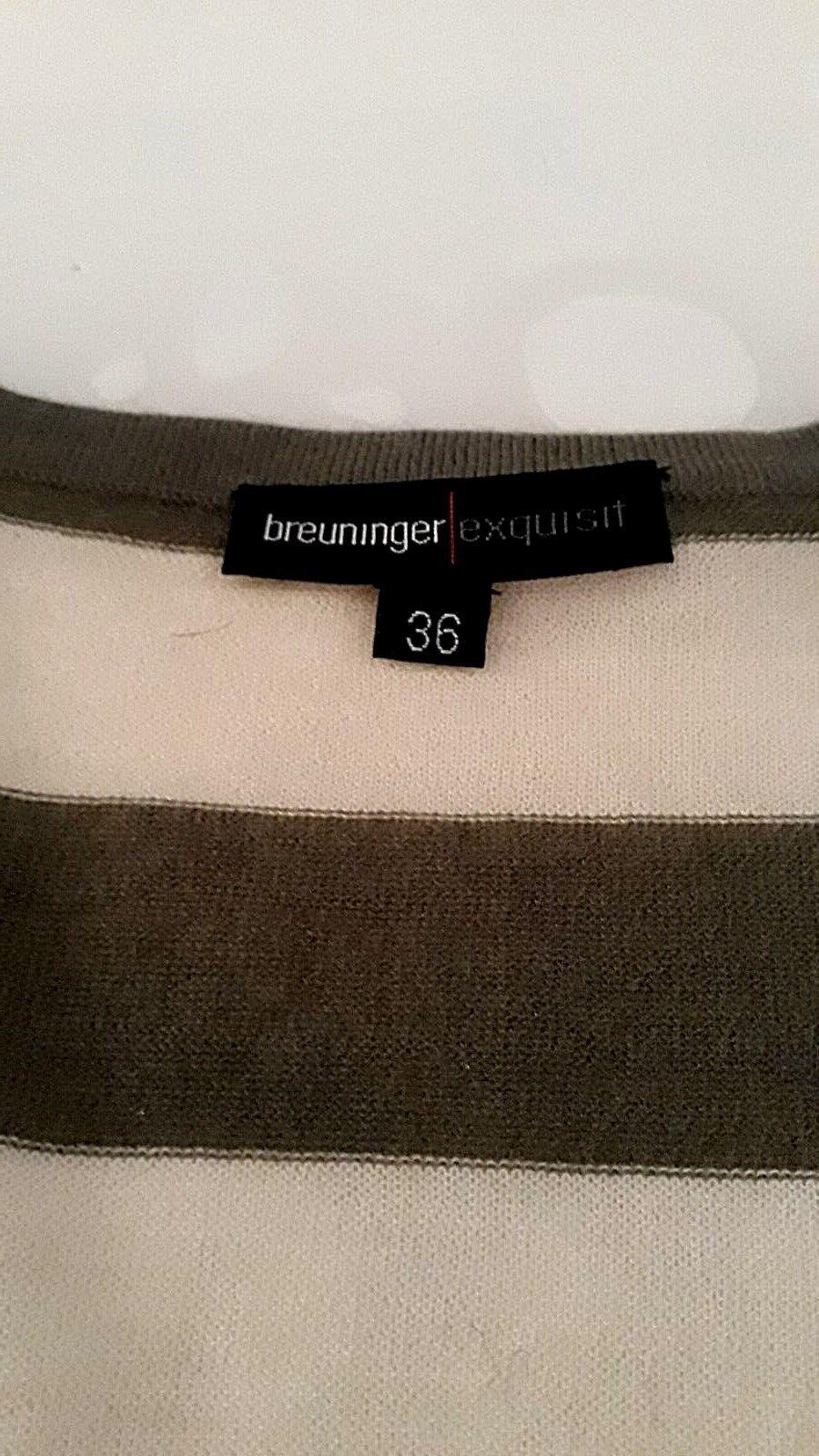 Giacca in maglia maglia maglia di breuninger Exquisit, Tg. 36, NUOVO, 287105