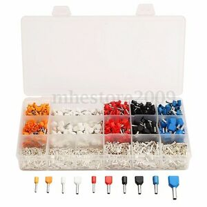 2360pcs-Bootlace-Cooper-Ferrules-kit-Set-Wire-Copper-Crimp-Insulated-Terminal