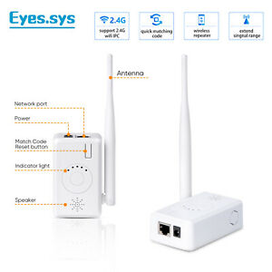 IPC Router/Repeater Extend WiFi Range for Wireless Security Camera NVR System