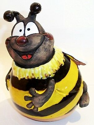 Garten Kugel Keramik Dekoration Figur Biene Maja Handarbeit Ebay