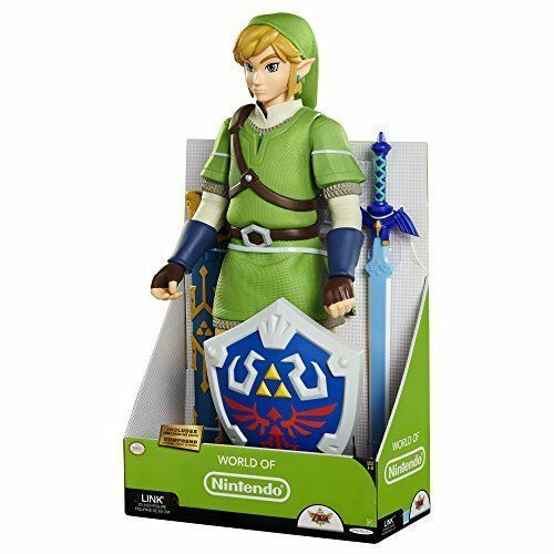 La Légende de Zelda Skyward Sword de Luxe 50cm Lien Action Figurine