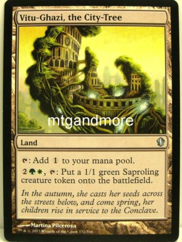 Magic Commander 2013-4x Vitu-Ghazi the City Tree
