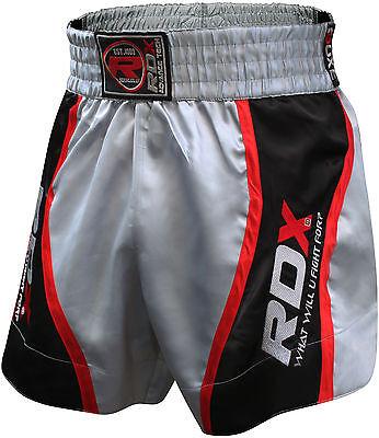 RDX Pro Muay Thai Fight Shorts MMA Grappling Kick Boxing Trunks Martial Arts UFC
