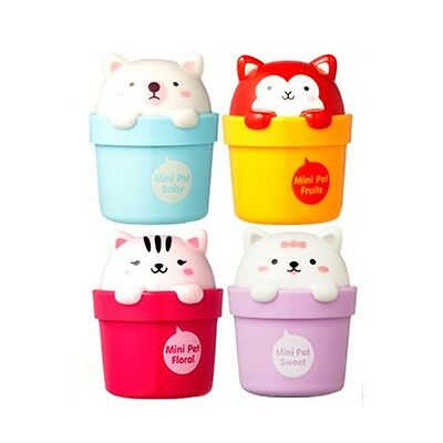[THE FACE SHOP]  Lovely Mix Mini Pet Hand Cream 4 Kinds / Korea cosmetic