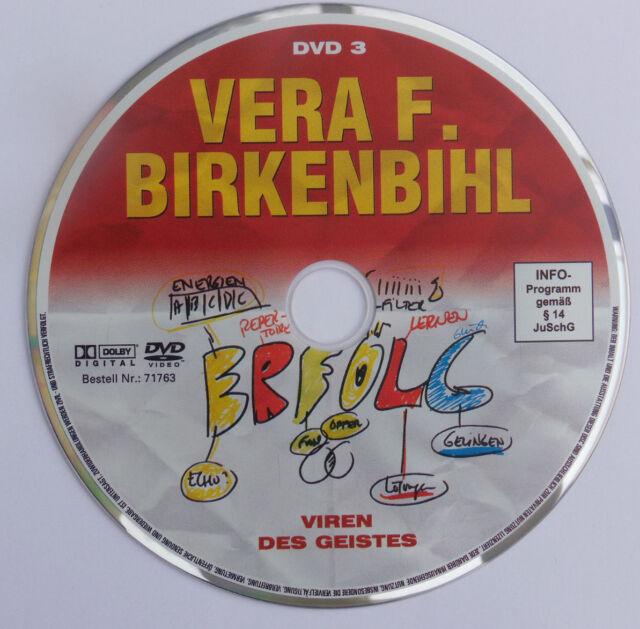 VERA F. BIRKENBIHL Viren des Geistes DVD Chancen Risiken Psychologie Rhetorik