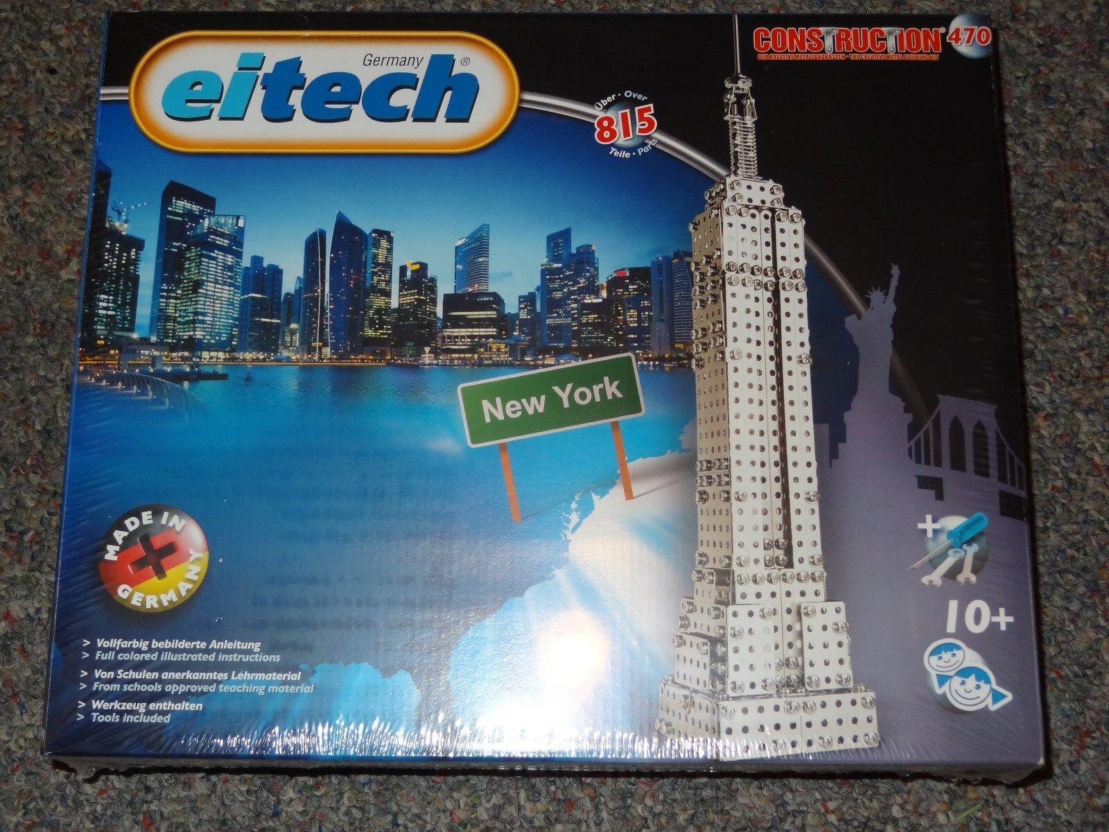 Eitech Landmark Series New York Skyscraper Metal Construciton Building Toy C470