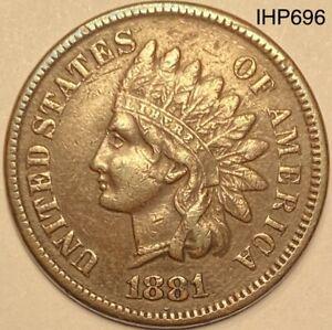 1881 INDIAN HEAD CENT  *GOOD DETAILS*