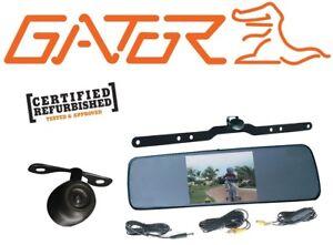 gator arv50m car 5 dual camera mirror reverse cam system. Black Bedroom Furniture Sets. Home Design Ideas