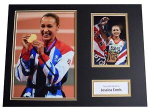 JESSICA ENNIS SIGNED PHOTO PRINT HEPTATHLON OLYMPICS AUTOGRAPH