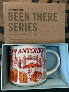 Starbucks Coffee Been There Series 14oz Mug SAN ANTONIO Cup w/SKU