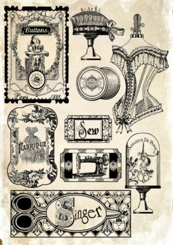 Decoupage-Serviettentechnik-Softpapier-Vintage-Nostalgie-Retro-12059