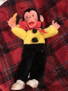 Vintage-Superior-Toy-Novelty-Zippy-Mr-Bim-17-034-Monkey-Banana-Stuffed-Howdy-Doody