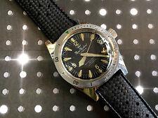 Vintage Alsta Wristwatch by Rene Richard Diver watch Men's Nautoscaph All Steel