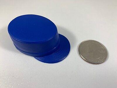 Hasbro GI Joe SOLID BLACK MILITARY CAP HAT 1//6 Scale LOOSE Figure Accessory