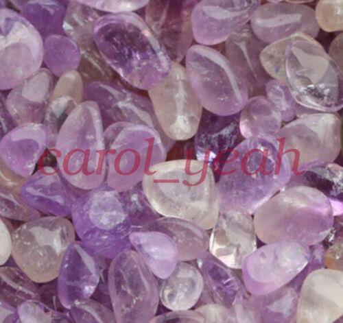 Natural Irregular Amethyst Crushed Broken Stones Gravels Lavender Demagnetizer