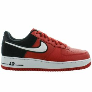 Details about Nike Air Force 1 07 LV8 1 Mens AO2439 600 Mystic Red Black White Shoes Size 8.5