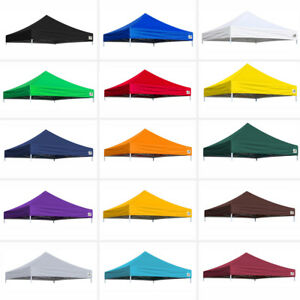 10 x 10 New Replacement Ez Pop Up Canopy Patio Gazebo Sunshade Polyester Cover