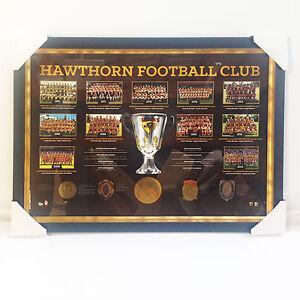 PROFESSIONALLY-FRAMED-HAWTHORN-FC-PREMIERSHIP-YEARS-LIMITED-EDITION-PRINT