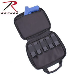 Rothco 3907 Double Pistol Carry Case - Black