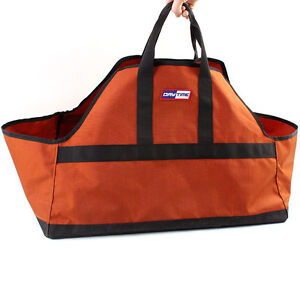 Image Is Loading Firewood Bag Log Carrier Fire Wood Tote Canvas