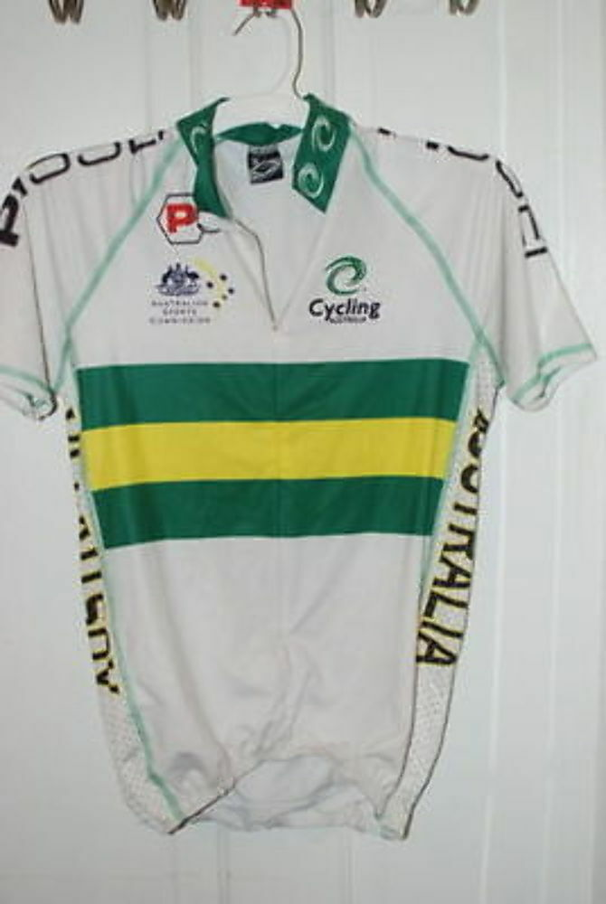 Ellegi Austrailian cycling bike jersey SMALL