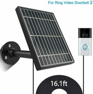 Solar-Panel-for-Ring-Video-Doorbell-2-3-5W-Output-360-Aluminum-Alloy-Bracket