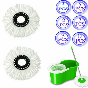 Replacement-Microfiber-Mop-Head-Refill-For-Spin-Mop-360-LOT