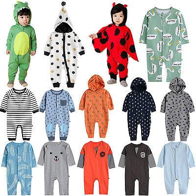 """Vaenait Baby Boy Girls Hooded One-pieces Romper Jumpsuit /""""Hoodie Cloud/"""" 6-24M"""