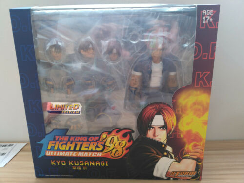 The King of Fighters Storm Collectibles KYO KUSANAGI Ultimate Action Figure LTD