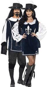 014c1d4a6252 Caricamento dell'immagine in corso Coppia-Donna-e-Uomo-Moschettiere-TV-Libro -Costume-